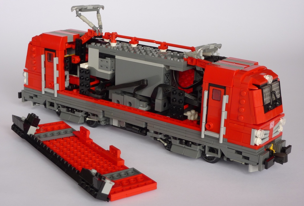 Lego Zug Build